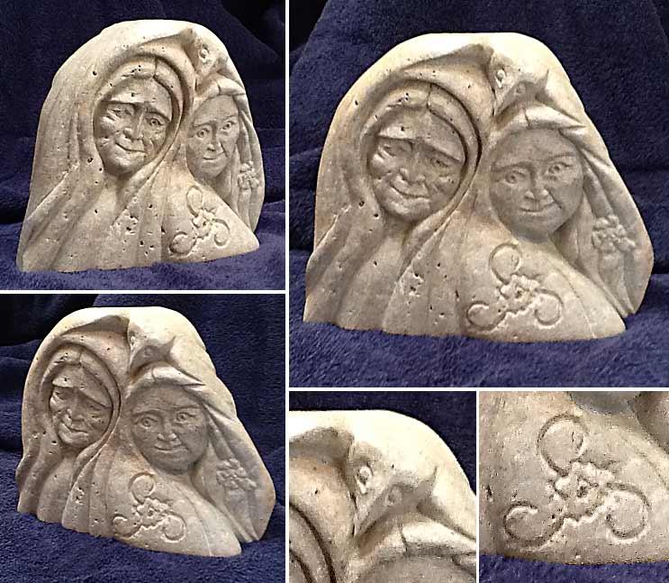 Morrigu / Blodeuwedd (Crone and Virgin Version of the Celtic Goddess)